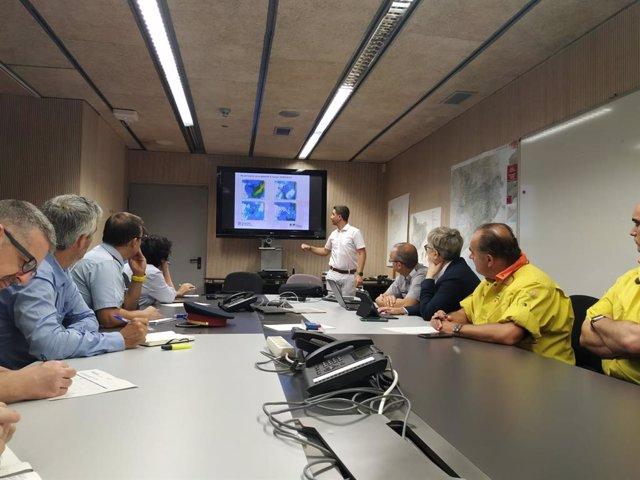 Reunió del comitè tècnic del pla Inuncat