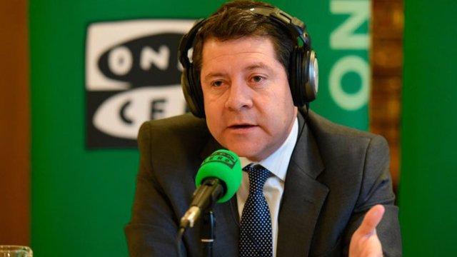 El presidente de Castilla La Mancha, Emiliano García Page