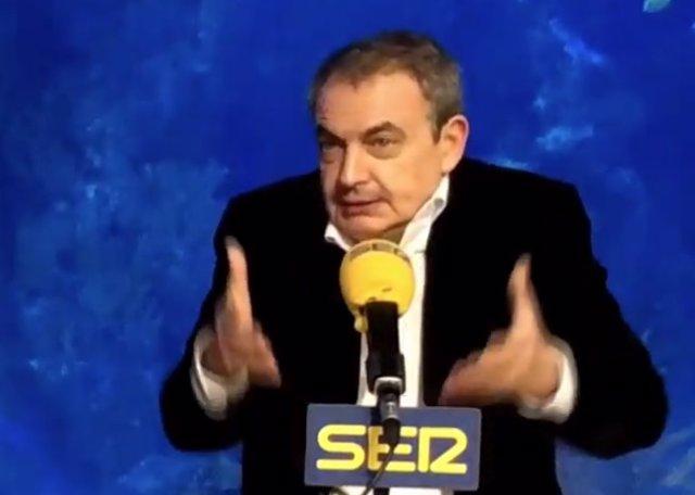 Entrevista al expresidente del Gobierno José Luis Rodríguez Zapatero