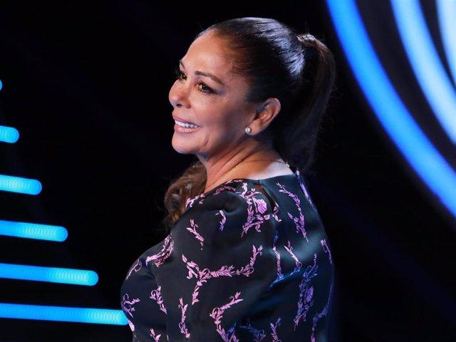 Isabel Pantoja reaparece públicamente en la presentación de 'Idol Kids', el nuevo programa de Mediaset España