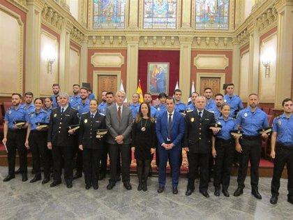 La Policía Local de Santa Cruz de Tenerife incorpora 21 nuevos agentes y deja la plantilla en 320