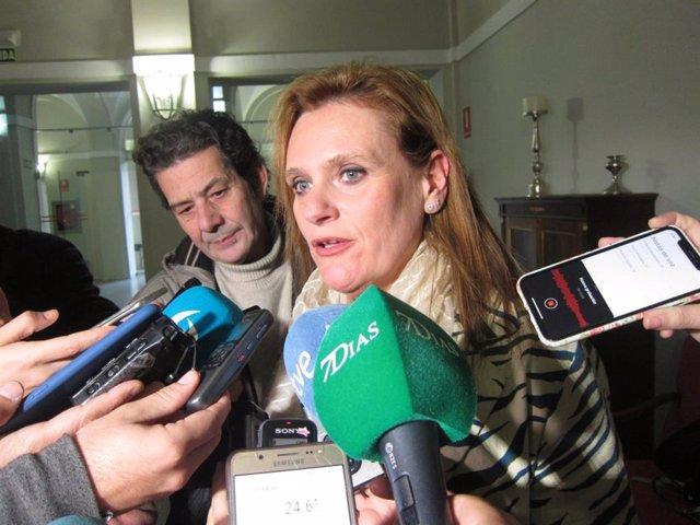 La delegada del Gobierno en Extremadura, Yolanda García Seco.