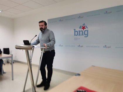 """El BNG rechaza la ley de ordenación del territorio por favorecer a """"grandes grupos empresariales"""""""
