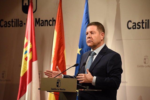 El president regional, Emiliano García-Page