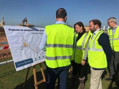 Emaya invierte 22,6 millones en construir un colector y un depósito de laminación para reducir los vertidos al mar