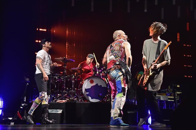 Red Hot Chili Peppers In Concert - New York City