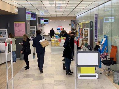 Las oficinas de Correos de Asturias reciben más de 2.700.000 visitas