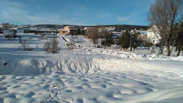 Carreteres repletes de neu a la Comunitat
