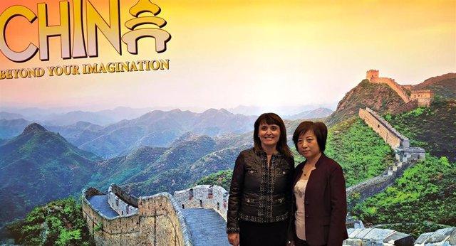Fitur.- La Embajada China escenifica su apoyo a la exposición 'Los Guerreros de