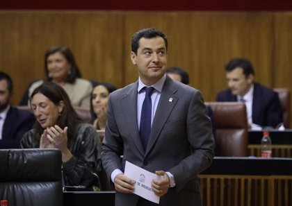 Moreno comparecerá el próximo martes en Parlamento para abordar la situación de Andalucía tras un año de su Gobierno