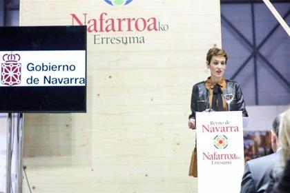 """Chivite destaca en Fitur el potencial de crecimiento que """"continúa teniendo el turismo en Navarra"""""""