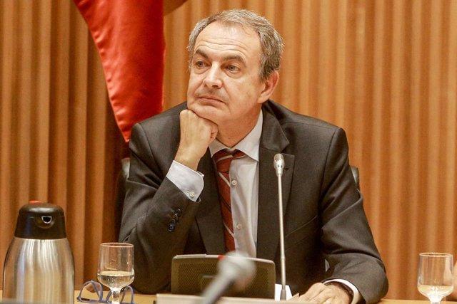 L'expresident del Govern, José Luis Rodríguez Zapatero, en imatge d'arxiu
