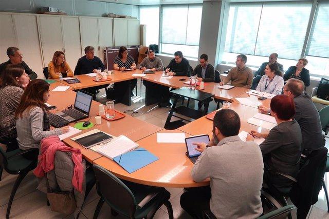 Reunión en la Conselleria de Educación.