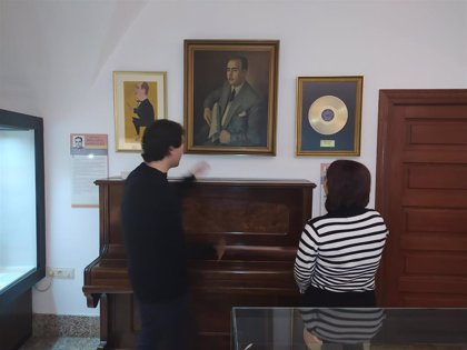 El Museo Casa Pedrilla de Cáceres exhibe un retrato del compositor Juan Solano Pedrero de los años 50