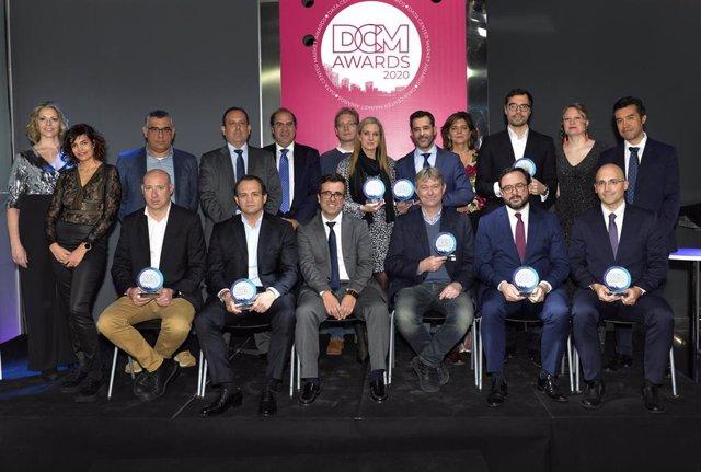 Premiados en los DCM Awards.