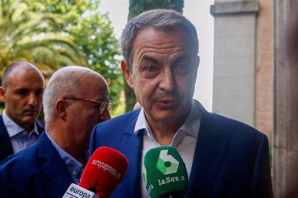 """Zapatero cree que es momento de aplicar la Ley de Memoria Histórica: """"Hay mayoría parlamentaria y gobierno que la apoya"""""""
