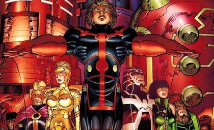 ¿Filtrada una escena clave de Los Eternos de Marvel?