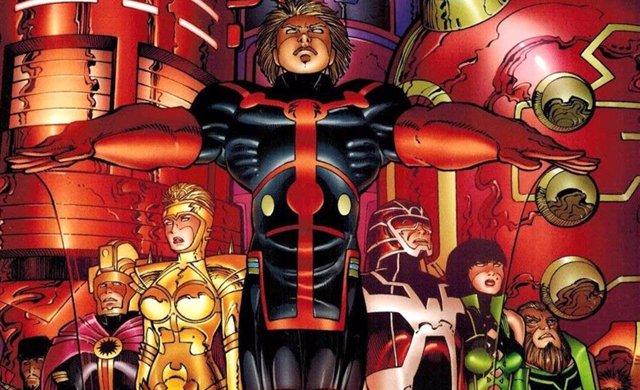 Los eternos (Eternals) de Marvel