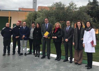 Secretario de Instituciones Penitenciarias conoce los talleres de justicia restaurativa de la prisión de Morón (Sevilla)