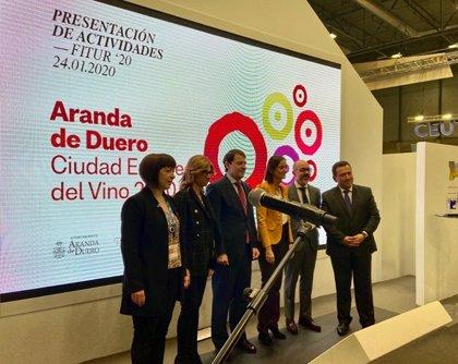 Aranda de Duero presenta en Fitur la 'Ciudad Europea del Vino 2020'