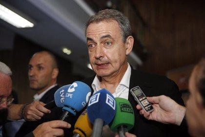 """Zapatero ve """"saludable"""" la reforma del Código Penal y pide """"a la derecha que no utilice hipócritamente temas de Estado"""""""