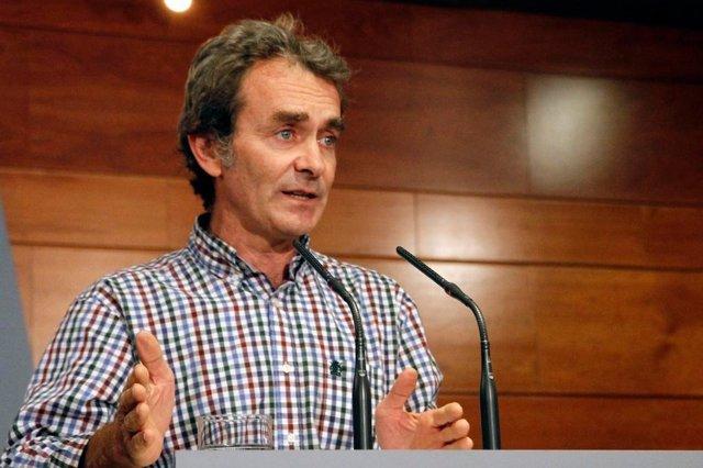 El director del Centre de Coordinació i Emergències Sanitàries del Ministeri de Sanitat, Fernando Simón.