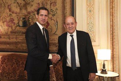 """El Gobierno francés reitera su apoyo a Guaidó para """"un proceso electoral abierto y democrático"""" en Venezuela"""