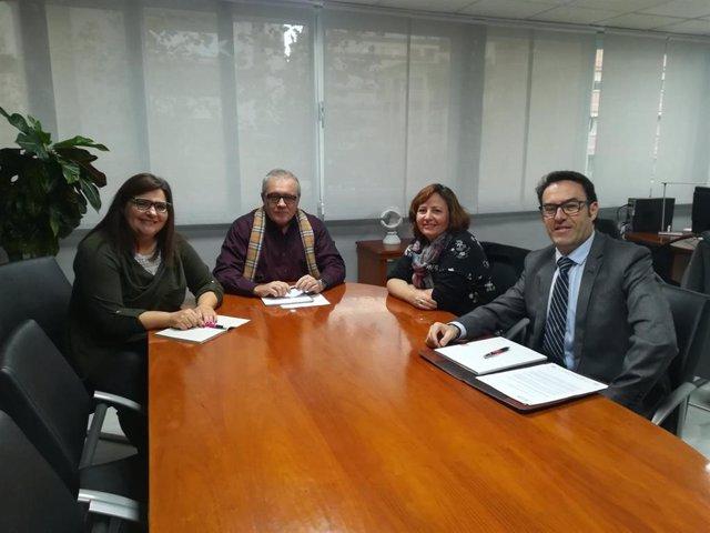 El delegado de Empleo de Almería se reúne con ATA