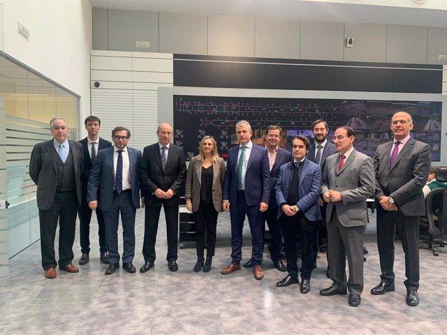 Carazo participa en el Consejo Administración de Metro de Málaga