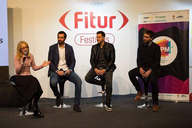 Imagen de la jornada sobre festivales que ha tenido lugar en el marco de Fitur.