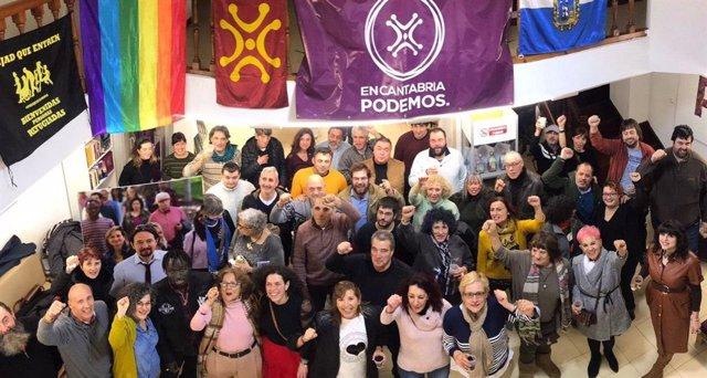 Podemos Cantabria celebra la formación de un gobierno progresista con una fiesta en La Moraduca
