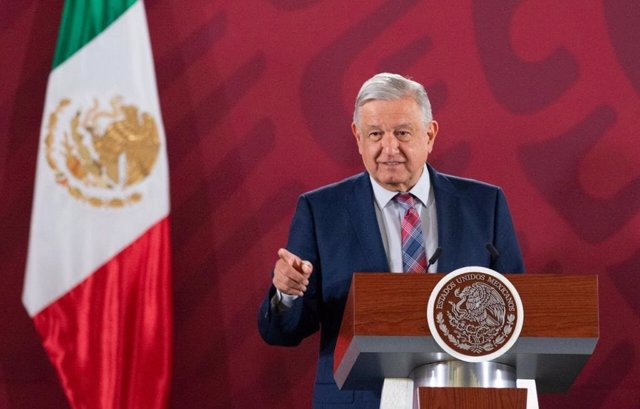 Imagen del presidente de México, Andrés Manuel López Obrador.