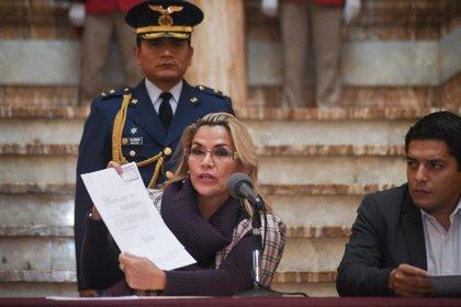 Áñez confirma su candidatura a las elecciones de Bolivia del 3 de mayo