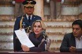 Foto: Bolivia.- Áñez confirma su candidatura a las elecciones de Bolivia del 3 de mayo