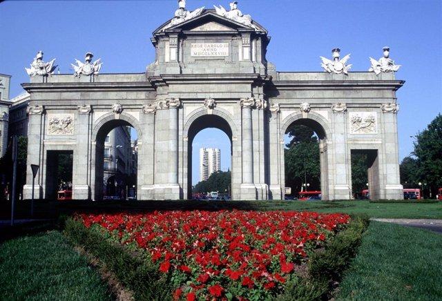 Imagen de archivo de la Puerta de Alcalá.
