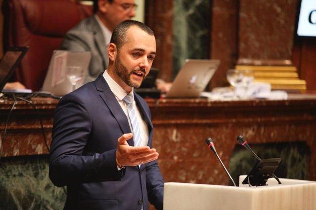 El diputado regional del PP, Juan Antonio Mata