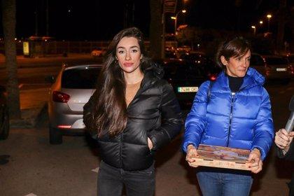 Adara Molinero aterriza en Barcelona sin querer hablar de Hugo ni de Gianmarco