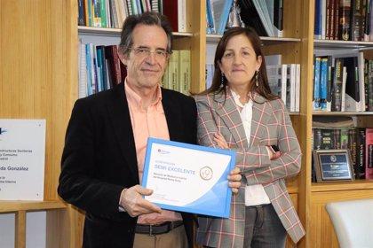 El Servicio de Medicina Interna del Hospital Reina Sofía de Tudela, galardonado por su calidad asistencial