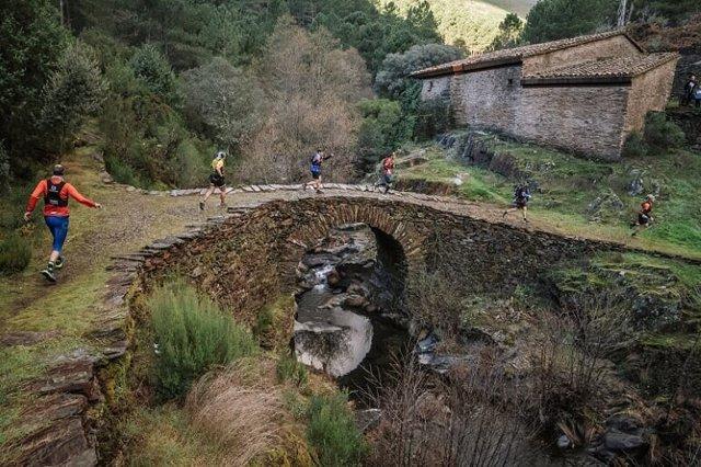 Trail Cumbres Hurdanas, foto de archivo