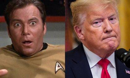 Donald Trump copia el logo de Star Trek para su ejército espacial