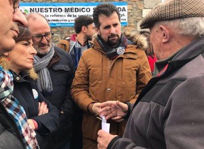 """Tudanca denuncia que la Junta """"pone en peligro servicios esenciales como la sanidad"""""""
