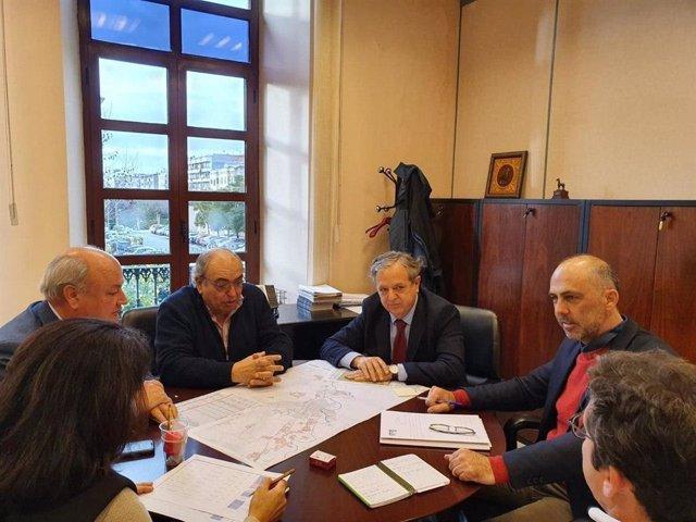 Ayuntamiento y CHG concretan protocolos de actuación