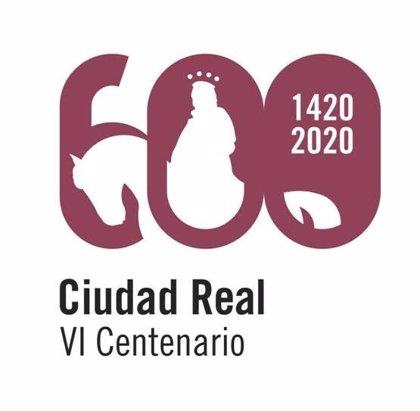 'Seis veces cien', de Toño Gutiérrez y Diego Gil, logotipo del VI Centenario de Ciudad Real