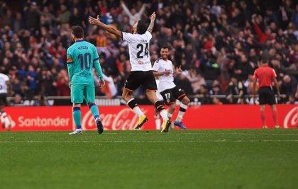 El Barça de Setién suspende su primer gran desafío