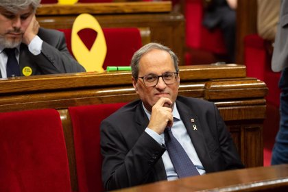 """La JEP rechaza el recurso de Torra para sustituirle en el Parlament por carecer """"manifiestamente"""" de fundamento"""