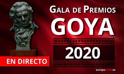Así te hemos contado los Premios Goya 2020 en los que 'Dolor y Gloria' ha sido la gran triunfadora