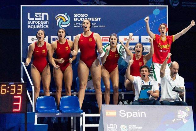España vence a Rusia en la final del Europeo de waterpolo