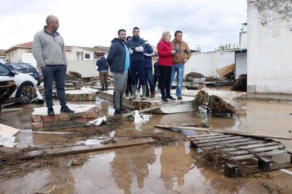 Más de 430 incidencias, la mayoría en Málaga, por lluvias y nieve este sábado en Andalucía