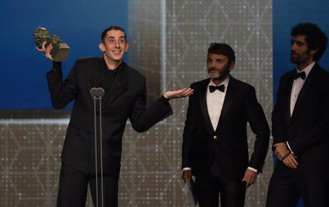 Enric Auquer, Mejor Actor Revelación en los Premios Goya 2020