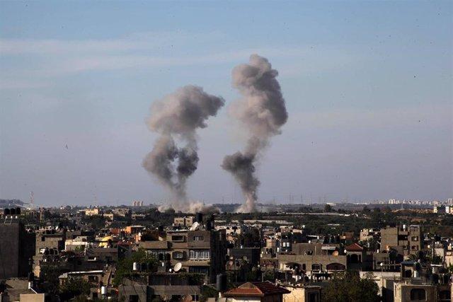 Imagen de enfrentamientos en la Franja de Gaza.